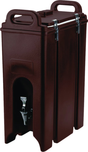 500lcd131 cambro 5 gal beverage dispenser brown