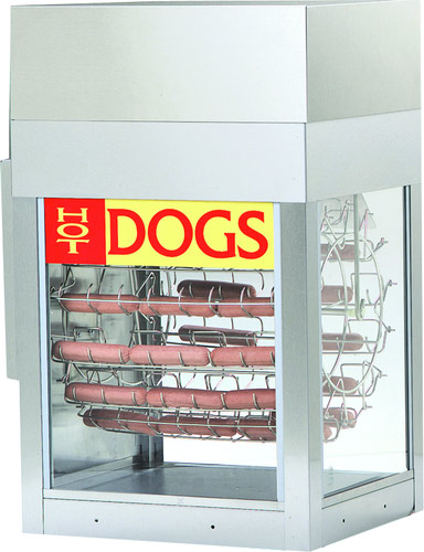 8102 gold medal dogeroo hot dog machine