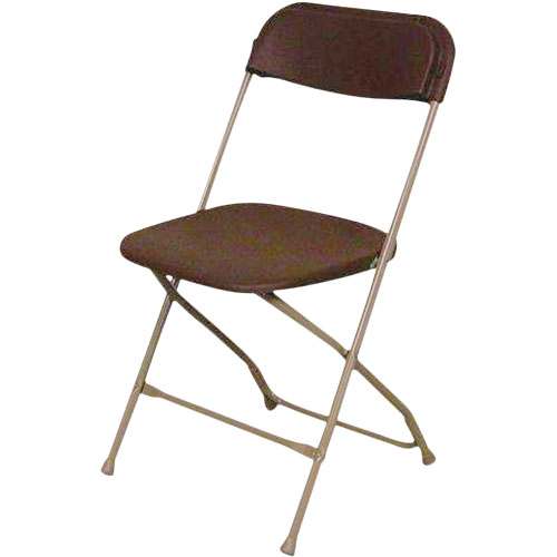 rental Folding Chair Brown