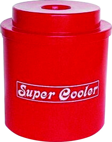 super cooler keg cooler red