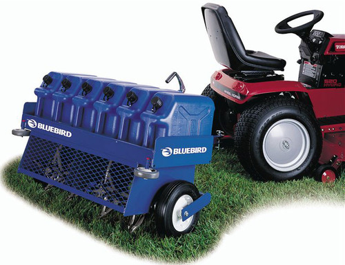 ta10 bluebird 36 inch towable aerator